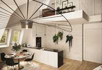 Elegante Neubau-DG-Galeriewohnung ruhige bevorzugte Wohnlage