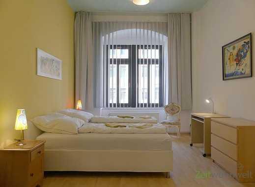Dresden: Leipziger Vorstadt, geräumige 3-Raumwohnung mit 2 Schlafzimmern und Aufzug, WLAN inklusive