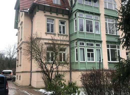 Weißer Hirsch: Erstbezug nach Sanierung in Jugendstilvilla mit traumhaftem Blick auf Dresdner Heide