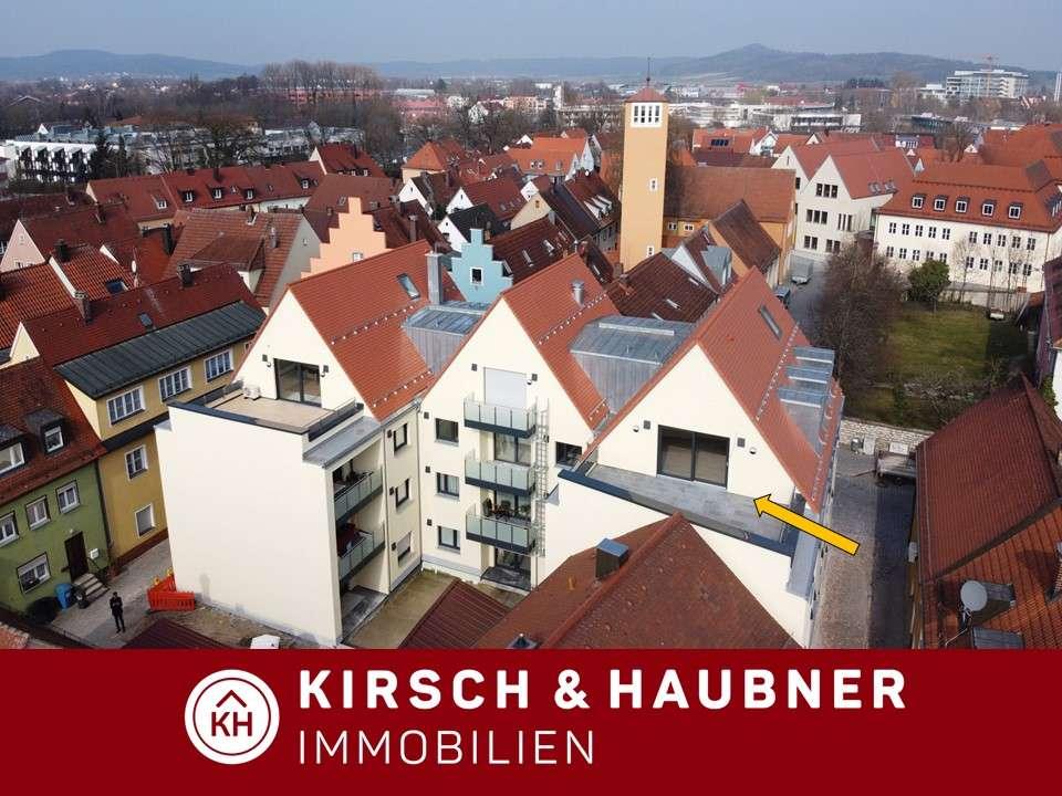 NEUBAU-ERSTBEZUG! Top Dachwohnung mit Studio und Terrasse XL, Neumarkt - Hallertorstraße  in