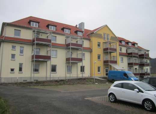 Gepflegte 2-Zimmer-Maisonette-Wohnung mit Balkon in Merkers