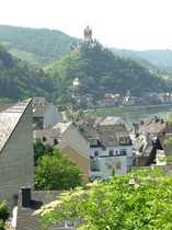 Bild 3,5-Zimmer m. Balkon in Cochem-Sehl mit Ausblick auf Mosel und Reichsburg