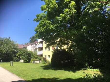 Provisionsfrei, neu renoviert, mit Balkon: Hochwertiges 1-Zi-Appartment in Nymphenburg/ Gern in Neuhausen (München)