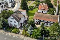 Areal mit Villa Gartenhaus loftartigem