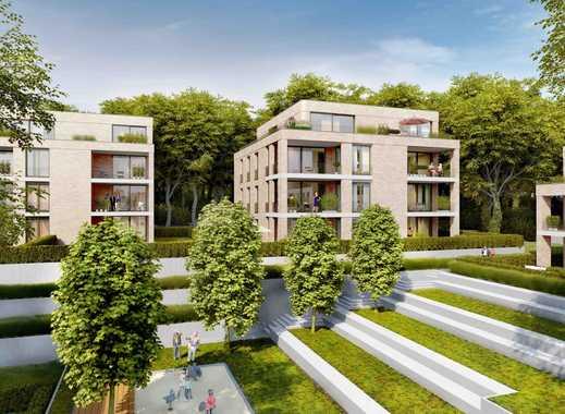 3-Zimmer Wohnung der Extraklasse mit 2 Bädern und großer Südloggia in moderner Stadtvilla!