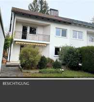 Charmante Doppelhaushälfte mit Traumgarten und