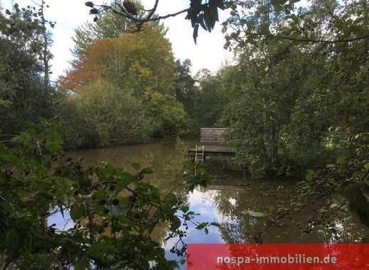 Traumhaftes Baugrundstück mit großem Teich an der Lecker Au!