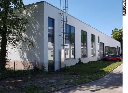 beheizte, durchgängig befahrbare Halle in Lechhausen
