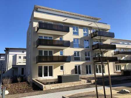 Neubau-Exklusive, moderne 4-Zimmer-DG-Wohnung mit Terrasse und herrlichem Bergblick in Unterhaching in Unterhaching