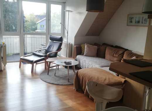 Exklusive, gepflegte 3-Zimmer-DG-Wohnung mit Balkon in Petershausen