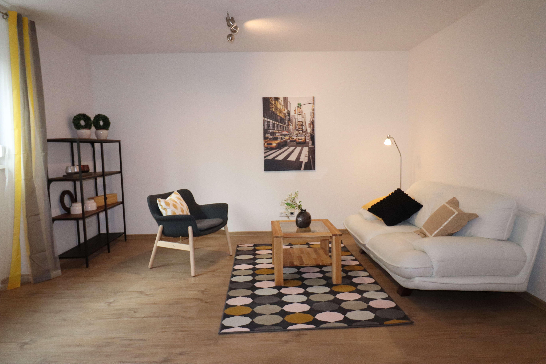 Erstbezug möbliertes 2-Zi.-Apartment: ruhig und zentral in Fürth-Süd  in
