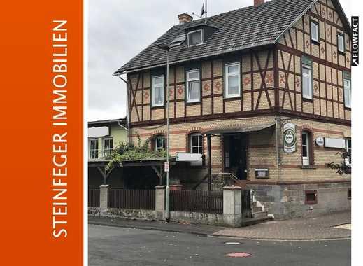 Echzell: Wohn- und Geschäftshaus mit alteingesessener Gaststätte zu verkaufen