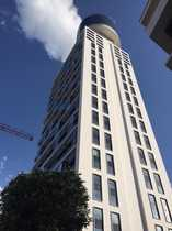 2-Bed-Apartement, furnished/möbliertes Wohnen in Frankfurts Landmark (Henninger Turm)