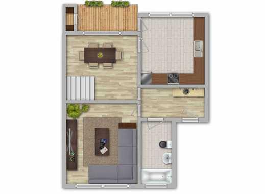 Goebenstraße: Erstbezug nach Sanierung - 4 Zimmer Maisonettewohnung