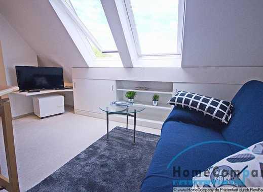 Gemütliche Dachgeschoßwohnung mit separatem Schlafzimmer in ruhiger Seitenstr. in der Innenstadt ...