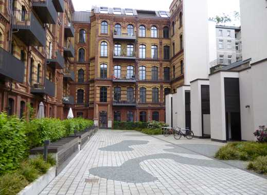 2- Zimmer Loft mit Terrasse in historischem Gebäude in ruhiger Lage in Mitte