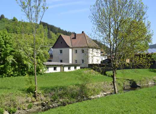 Schönes, großes Haus am Bachlauf in Wallenfels