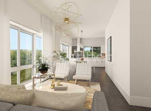 Provisionsfrei!  Erdgeschosswohnung mit 135 m² auf zwei Ebenen mit zwei Bädern