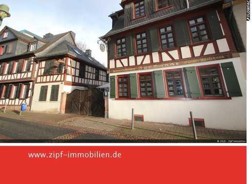 **Historisches Gasthaus in Frankfurt/M. - mit großem Biergarten und Nebengebäude**