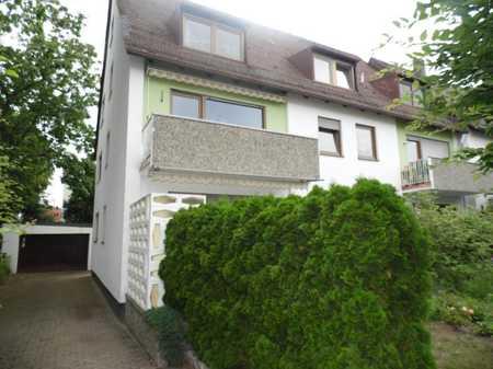 Helle, freundliche Wohnung möbliert mit Gartenanteil in Schniegling (Nürnberg)