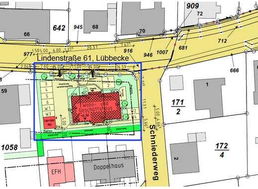 Grundstück mit Baugenehmigung für ein Wohn- und Geschäftshaus