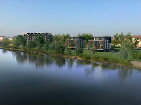 Excl. Penthaus - Neubau in direkter Lage am Main ! in Kitzingen
