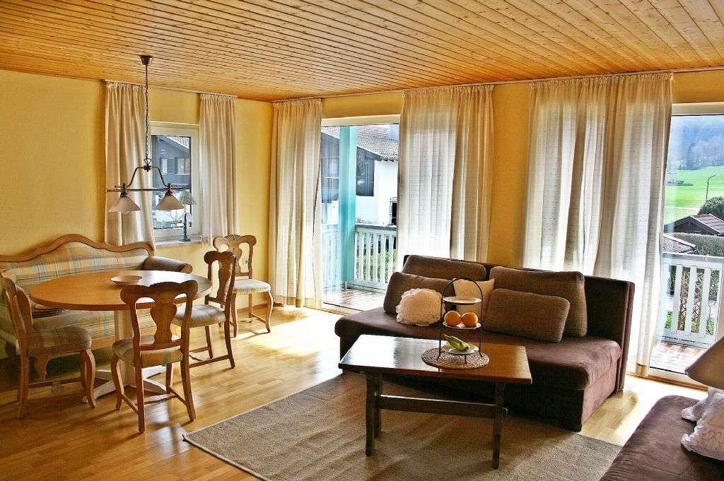 Helle Wohnung mit tollem Bergblick in Aschau zu vermieten  in