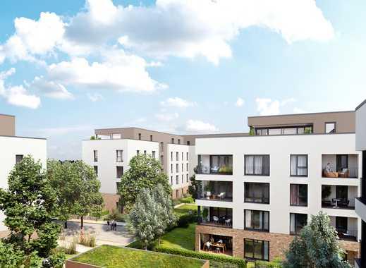 Ihre neue 3-Zimmer-Gartenwohnung mit West-Terrasse, Tageslichtbad und Gäste-WC