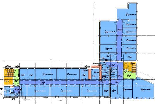 Grundriss 2. OG - 950,00 m²