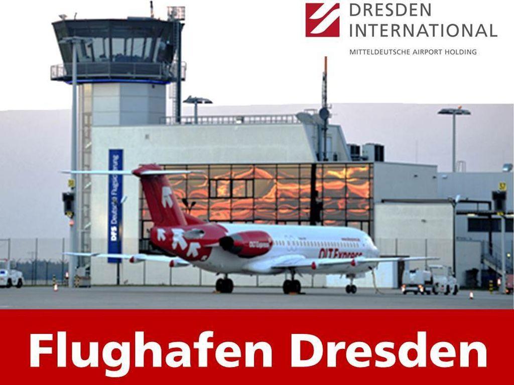Büros Flughafen Dresden neu
