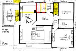 4 Zimmer Wohnung in Coburg