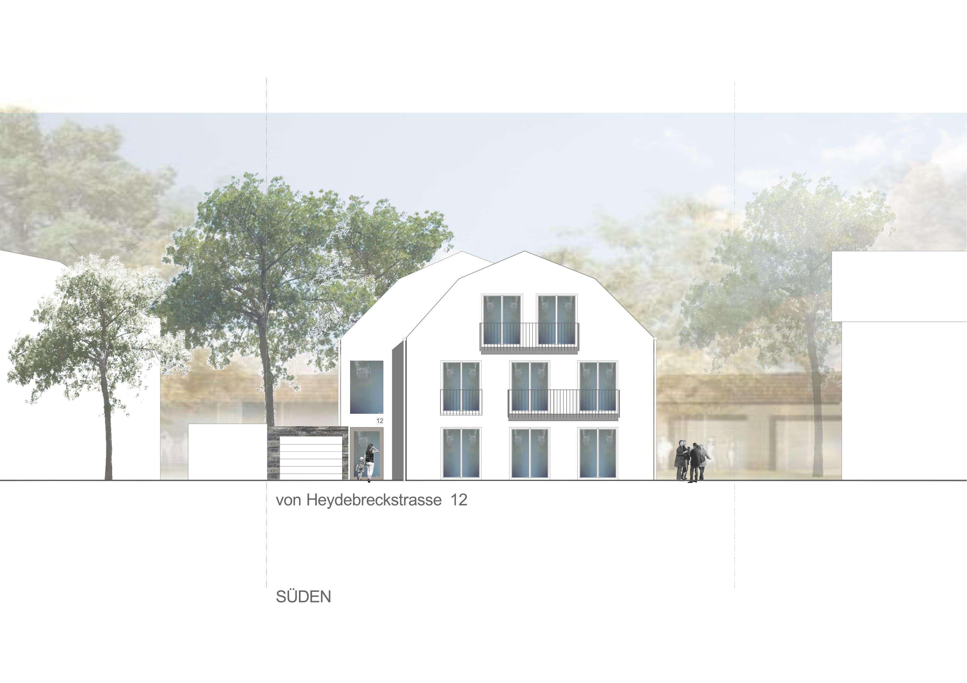 NEUBAU große 4-Zimmer-Wohnung mit Balkon in München-Trudering in Trudering (München)