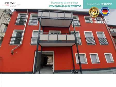 Moderne 2-Zimmer Wohnung mit Balkon - Erstbezug nach Sanierung - in Nürnberg Stadtteil Eberhardshof in Muggenhof (Nürnberg)
