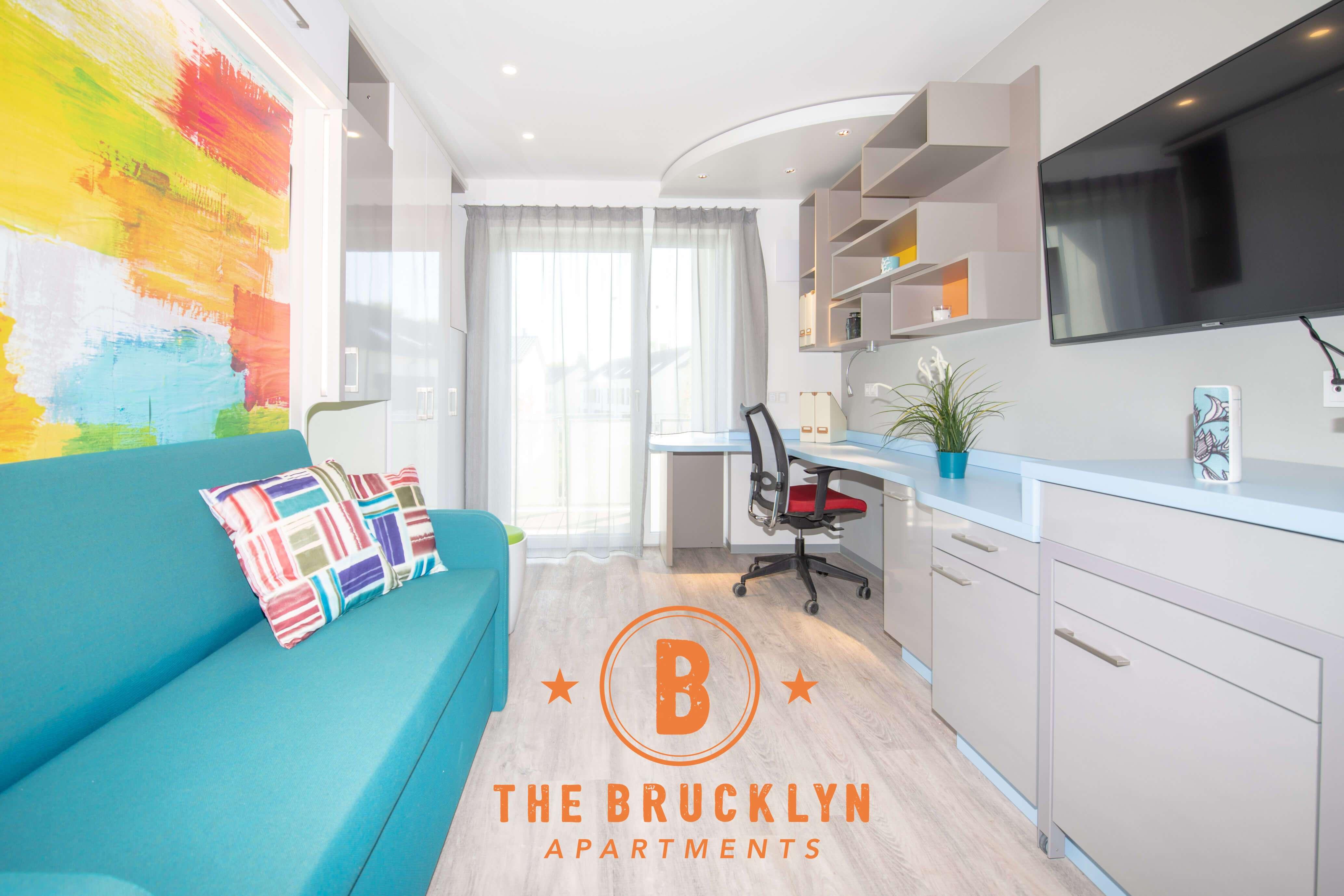 Möblierte Lifestyle-Apartments mit Gym, Sauna, Pool, Kino & Gemeinschaftsräumen in