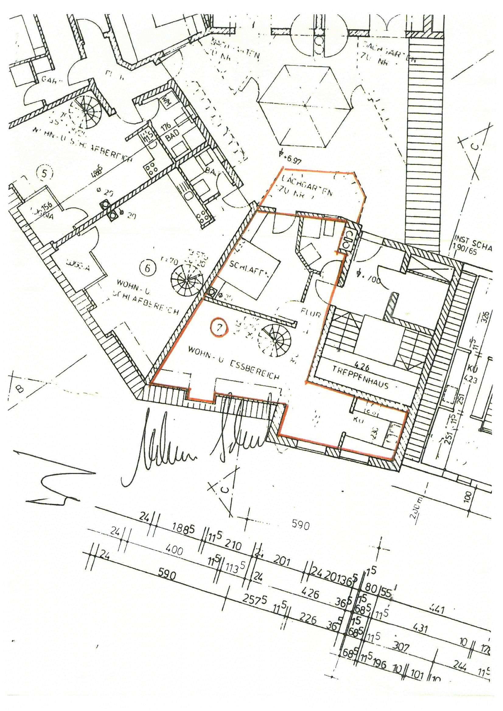 Stadt- Galeriewohnung über 2 Etagen in