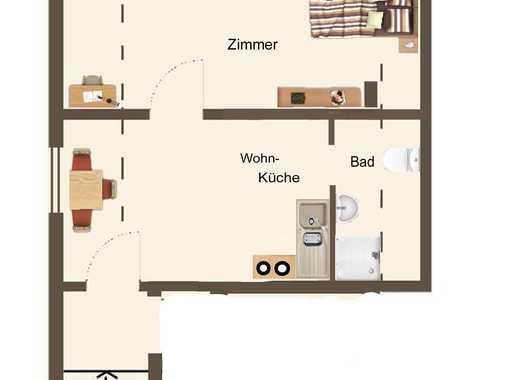 Single-Dachgeschosswohnung zur Miete in Urbach