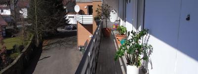 Achtung Kapitalanleger - gepflegte Wohnung mit Südbalkon und Garage in zentraler Lage von Hüllhorst!