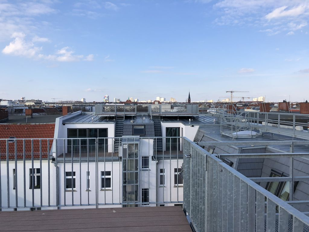 Ausblick private Dachterrassen