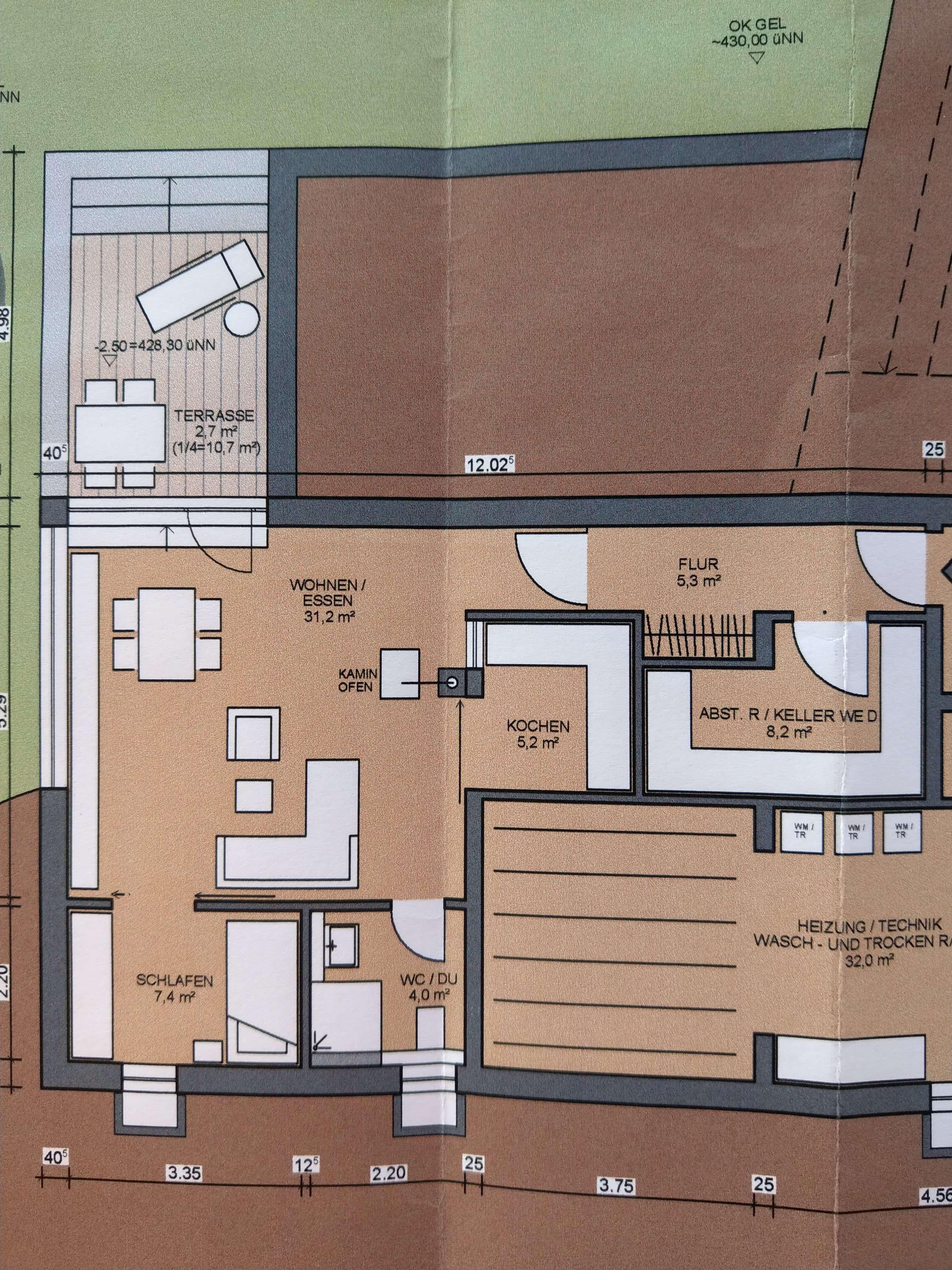 Moderne Singlewohnung in Bad Kötzting zu vermieten in