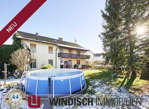 WINDISCH Immobilien- Zweifamilienhaus mit Garagenhalle in Alling