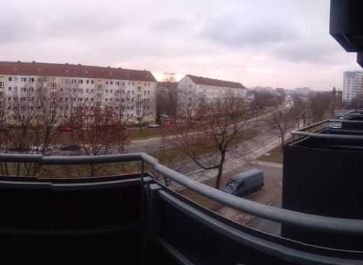 stilvoll, im Herzen der Stadt 1-Zimmer-Wohnung mit Balkon und EBK in Dresden