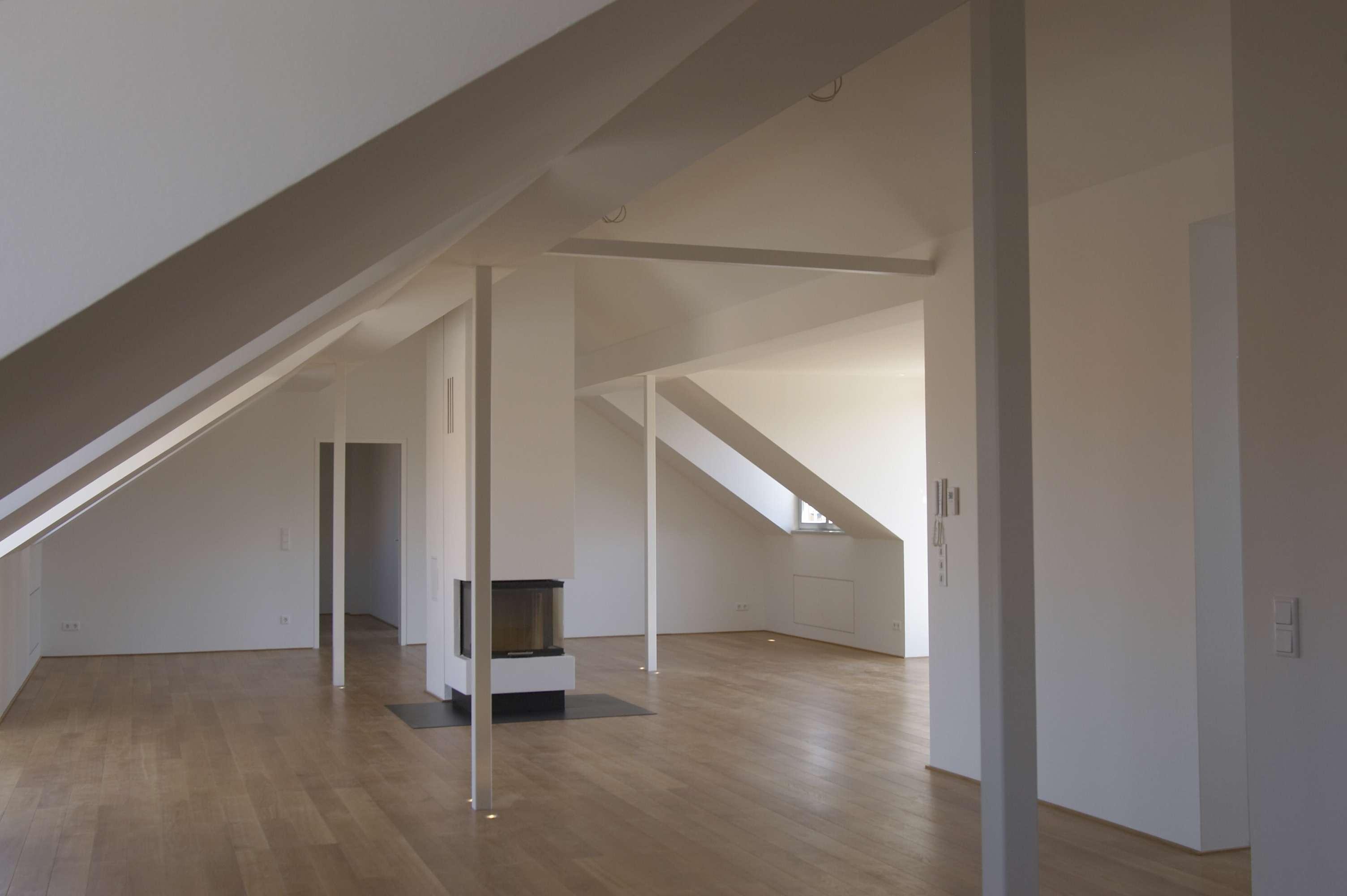 Exklusive Loftwohnung in einem Jugendstilhaus am Prinzregentenufer in Wöhrd