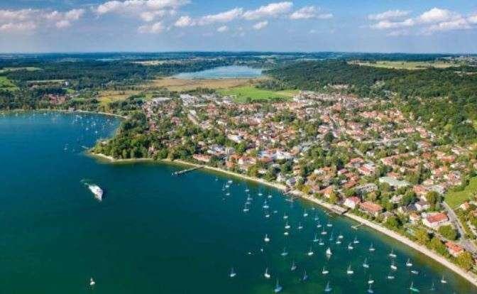 Wunderschöne 2-3 Zi Neubau-Wohnung mitten im 5-Seen-Land (Ammersee, Pilsensee etc.)!