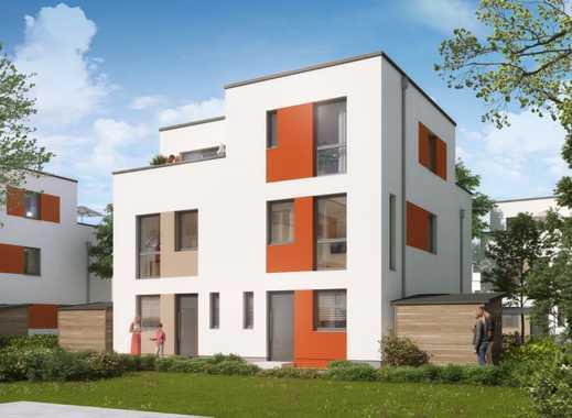 Zukunftsweisend! Doppelhaushälfte mit KfW 40-Standard und viel Freiraum in toller Lage