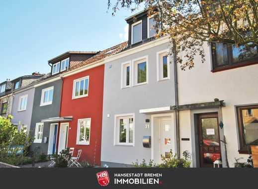 Findorff / Hochwertig saniertes Reihenmittelhaus mit Terrasse und Garten