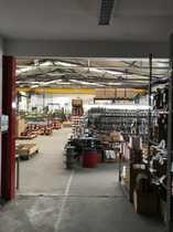 750 qm moderne Gewerbe- Industriehalle