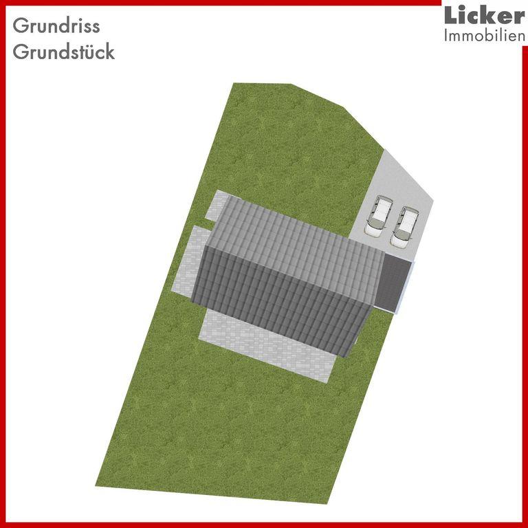 - Grundriss - Grundstück