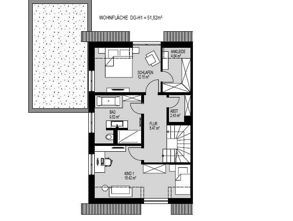 DH_Haus 1_Obergeschoss
