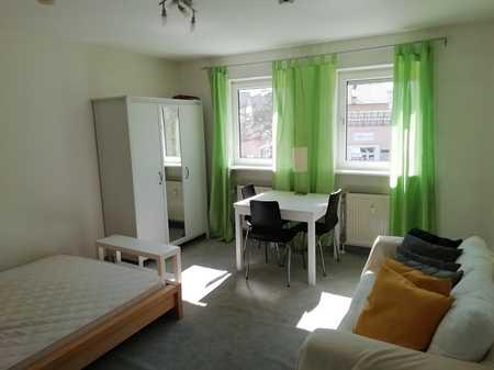 Helles, stilvoll möbliertes 1-Zimmer-Appartment mit Einbauküche in Regensburg in Kumpfmühl-Ziegetsdorf-Neuprüll (Regensburg)