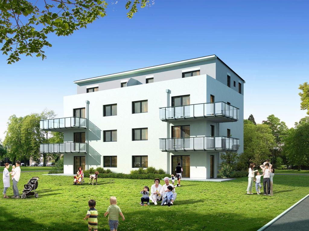 Neubau - Erdgeschosswohnung mit Terrasse und kleinem Garten